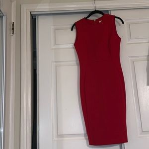 CK red work dress!